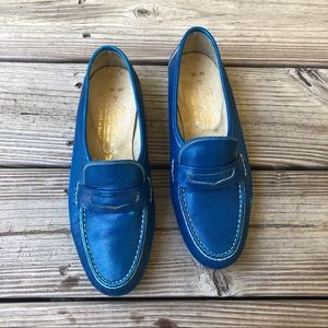 Rare Vintage 1970's Famolare get there loafers